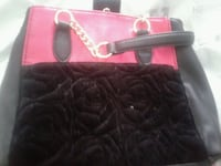 Betsey Johnson Swede and leather purse Springfield, 65803