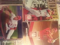 Mike Trout Elite and Topps Chrome lot
