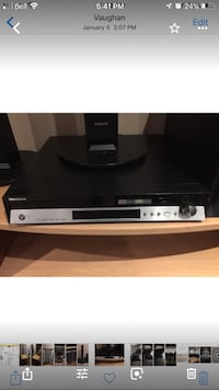 Samsung surround sound DVD player and radio Vaughan, L6A 2J8