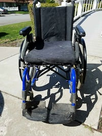 black and blue medical wheelchair Spokane, 99208