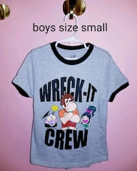 boys wreck it ralph 2 tee size small Hollidaysburg