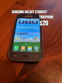 Samsung Galaxy Stardust Android phone tracphone