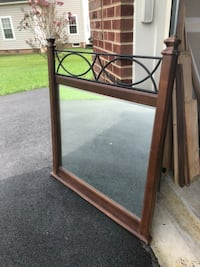 Large Mirror With Metal Decoration Bowie, 20721