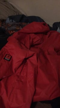 Red and black RDS zip-up winter jacket Winnipeg, R3C