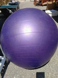 Purple Exercise Ball
