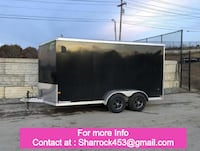 Looks excellent cargo UTILITY TRAILER 7 X 14 great condition