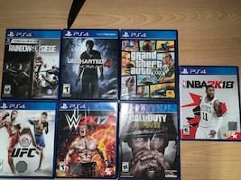 PlayStation 4 &games&headset&control