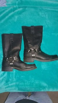 Leather biker boots  Londonderry