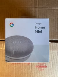 Google Home Mini - Chalk - Brand New