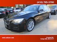 2014 BMW 7 Series for sale Owings Mills