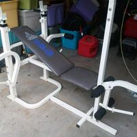 Weider bench with bench bar and more Reedsburg, 53959