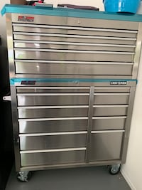 Stainless Craftsman double tool box excellent Tucson, 85715