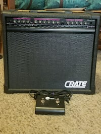 CRATE STEALTH-50 TUBE AMP w/foot switch Lake Stevens, 98258