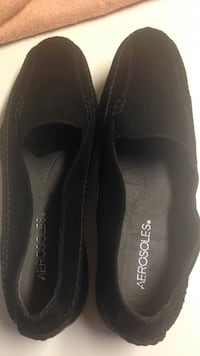 pair of black leather loafers Fairfax, 22030