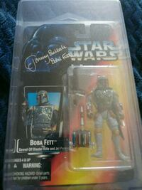 Star Wars  action figure signed .  Newport News, 23607