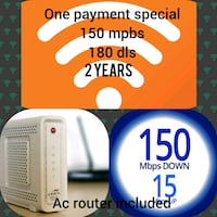 Ac router , wifi , internet Los Angeles