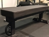 REP flat bench Fb-5000 competition with curl bar & collars Las Vegas, 89183