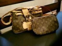 brown Louis Vuitton leather bags Richmond, 23223