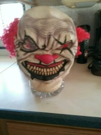 8 HALLOWEEN CLOWN MASKS  PRICE REDUCED FOR QUICK   Bakersfield, 93308