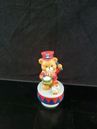 March of the WOODEN soldier Music Box Teddy Bear