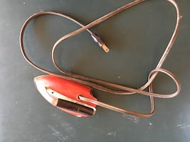 Vintage iron for display