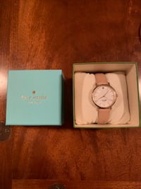 Kate Spade watch with tan brown strap; box included 561 km