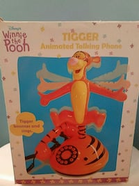 Animated Tigger Talking Phone Bowie