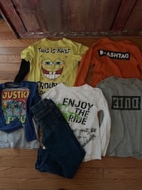 Boys size 5 and 5/6 shirts and size 6jeans Hagerstown, 21740