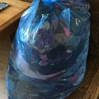 1 Trash Bags full of Clothes. $20 takes it. Fcfs  Houston, 77063