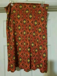 Lularoe 2X skirt Roanoke, 24015