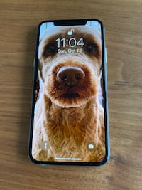 iPhone XS 64GB Silver with white silicone case included Vancouver, V6B 1G3