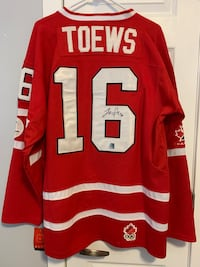 Autographed Toews 2010 jersey Vancouver, V5W 3K5
