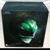 New Green Power Ranger Replica Wearable Helmot Toronto, M8Y 2S6