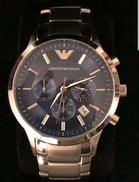 Blue Stainless Steel watch  Vancouver