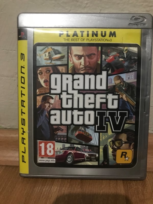 Orjinal Playstation 3 Ps3 GTA 4 GTA IV Grand Theft Auto 4 1