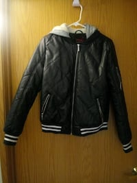 Pleather hooded Jacket Las Vegas, 89102