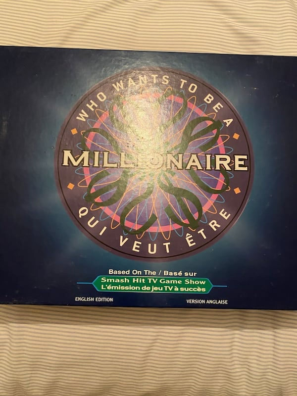 Who Wants to be a Millionaire Board Game c643fed5-c83b-46f7-a7a1-81912448e54b