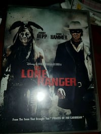 The Lone Ranger DVD med Johnny Depp  Oslo kommune, 0986
