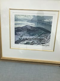 AJ Casson Numbered Lithograph Toronto, M8Y 1E3