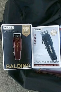 And is & Wahl. Clippers for sale 45$ each price negotiable.