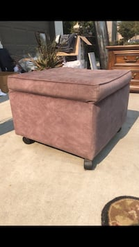 Black and grey ottoman  Visalia, 93291