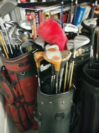 golf clubs $3 each right and left handed