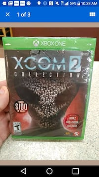 Xbox one xcom 2 video game...
