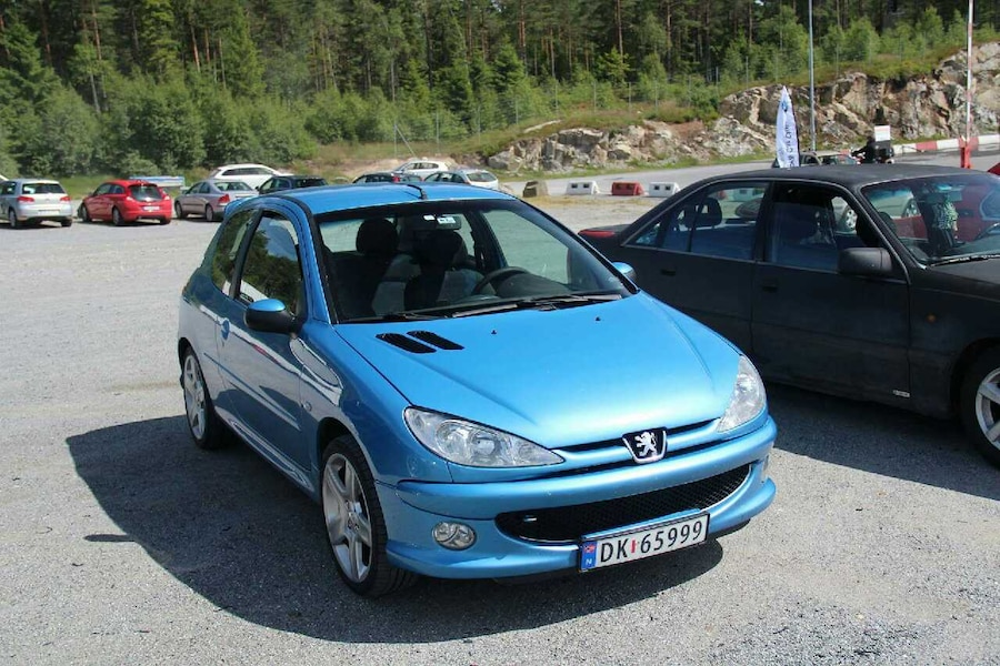 peugeot 206 1998 - Norge