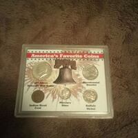 Sealed in package. All real coins Mishawaka, 46545