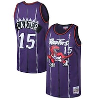 Raptors Jersey Vince Carter Mitchell and Ness Toronto, M2M 4L9