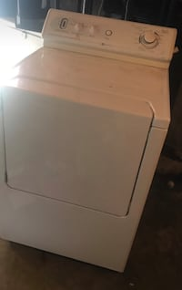 White front-load clothes dryer  60 mi
