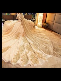 Princess style gown comes with matching veil , crown ,shoe and purse ,scroll down to view more pictures of this gown Brampton, L6V 3X9