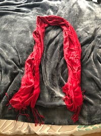 red and white floral scarf Sunnyvale, 94086