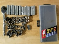 50+ piece socket set with wrench Beaver